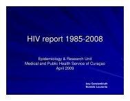 HIV report 1985-2008 - Health[e]Foundation