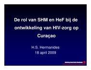 De rol van SHM en HeF bij de ontwikkeling van HIV-zorg op Curaçao