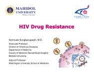 HIV Drug Resistance - Health[e]Foundation