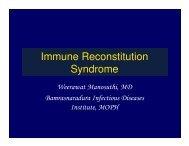 Immune Reconstitution Syndrome - Health[e]Foundation
