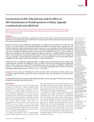 Circumcision in HIV-infected men - Health[e]Foundation