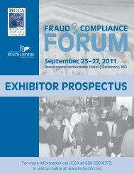 Exhibitor ProSPECtuS - The American Health Lawyers Association