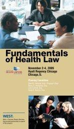 FHL09_brochure - The American Health Lawyers Association