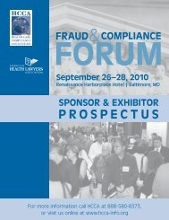 proSpECtuS - American Health Lawyers Association