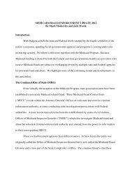 202 moskovitz wenik - American Health Lawyers Association