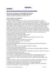 Appendix A - American Health Lawyers Association