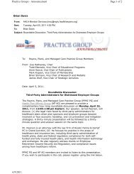 Brian Davis Page 1 of 2 Practice Groups - The American Health ...