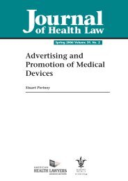 Advertising and Promotion of Medical Devices - The American ...