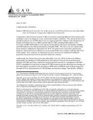 GAO-11-712R HHS Research Awards - The American Health ...