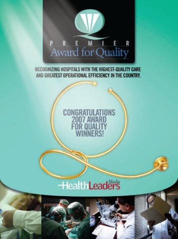 Download this Special Report - HealthLeaders Media