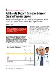 Poll Results: Doctors' Disruptive Behavior Disturbs ... - ResearchGate