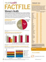 Download this Fact File - HealthLeaders Media