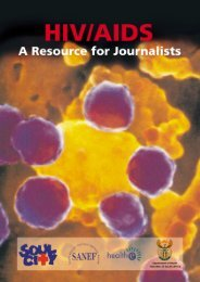 HIV Aids A Resource For Journalist - Health Systems Trust