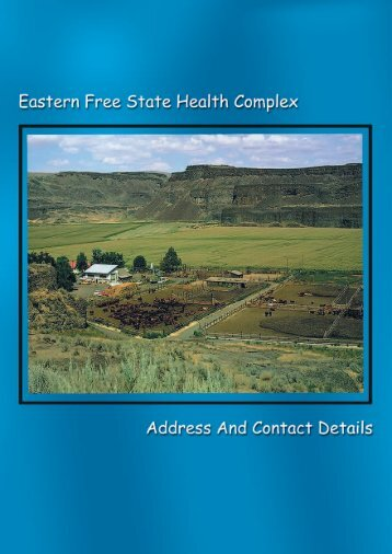 east_fs_contacts - Health Systems Trust