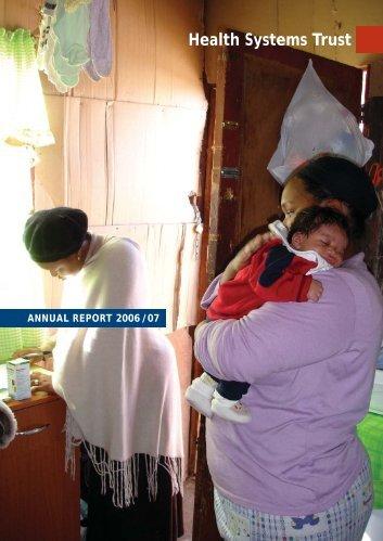 anrep0607 - Health Systems Trust