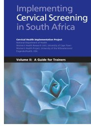 A Guide for Trainers - Health Systems Trust