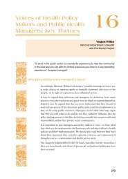 SAHR 2001 Chapter 16 - Health Systems Trust