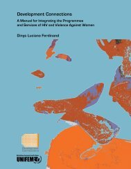 Dinys Luciano. A manual for integrating the programmes and ...