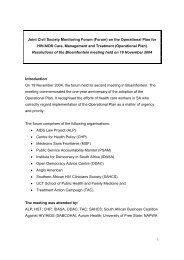 1 Joint Civil Society Monitoring Forum (Forum) on the Operational ...
