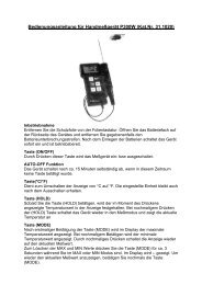Bedienungsanleitung für Handmeßgerät P300W \(Kat - TFA