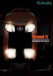 Kubota Grand X