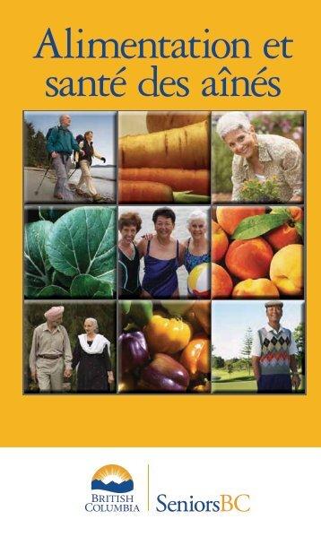Alimentation et sante des aines - HealthLinkBC
