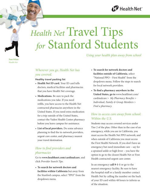 Travel Tips Health Net For Stanford Students