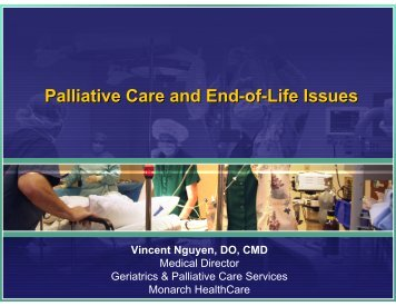 Palliative Care and End-of-Life Issues - Health Net