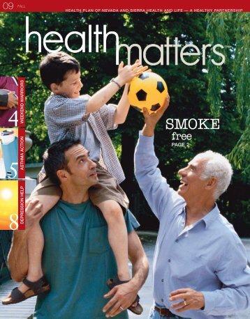 Fall 2009 - Health Plan of Nevada