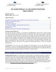 plagiocephaly & craniosynostosis treatment - Health Plan of Nevada
