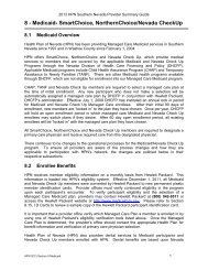 8 - Medicaid - Health Plan of Nevada
