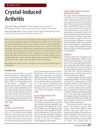 Crystal-Induced Arthritis - HealthPlexus.net
