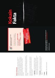 Kokain Fakta - Health Promotion Unit