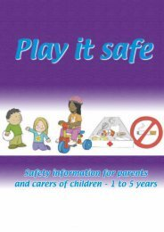 Play it Safe - Health Promotion Unit