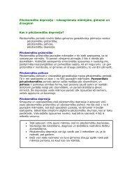 Pēcdzemdību depresija - Health Promotion Unit