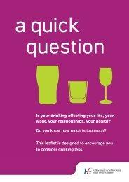This leaflet - Health Promotion Unit