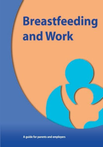 Breastfeeding and Work - Health Promotion Unit
