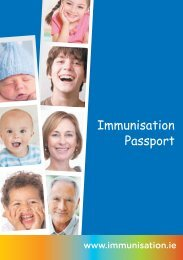 Immunisation PassPort Sept 11.indd - Health Promotion Unit