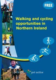 Walking and cycling opportunities in Northern Ireland - Health ...