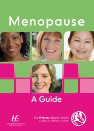 Menopause - Health Promotion Unit