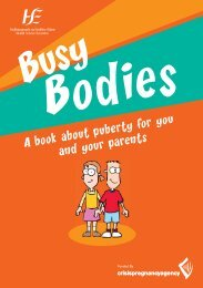 busy bodies - Health Promotion Unit