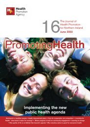 Journal 16 - Health Promotion Agency
