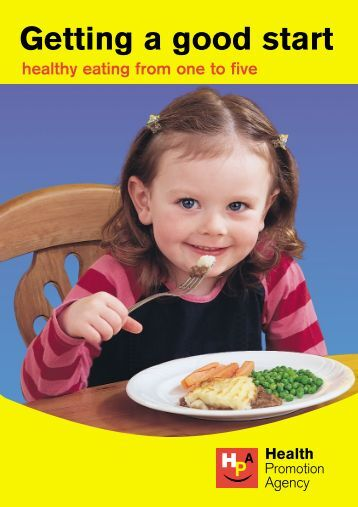new nutrition leaflet 1-5 - Health Promotion Agency