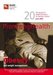 Obesity - Health Promotion Agency