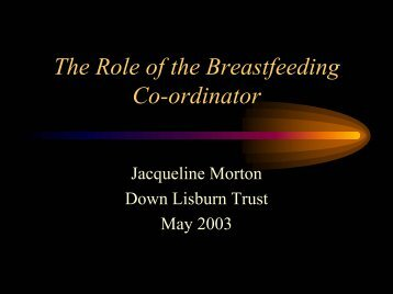 Breastfeeding Project - Health Promotion Agency