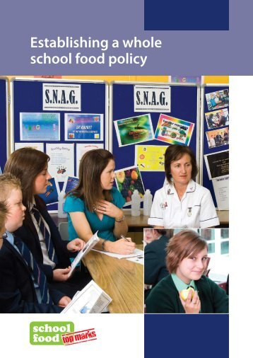 Establishing a whole school food policy - Health Promotion Agency