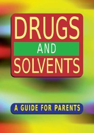 drugs - Health Promotion Agency
