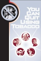 YOU CAN QUIT - VA/DoD Clinical Practice Guidelines Home