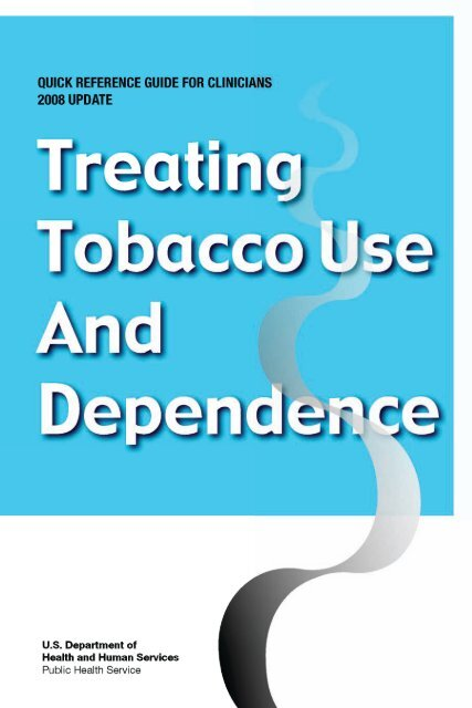 Treating Tobacco Use and Dependence - Agency for Healthcare ...