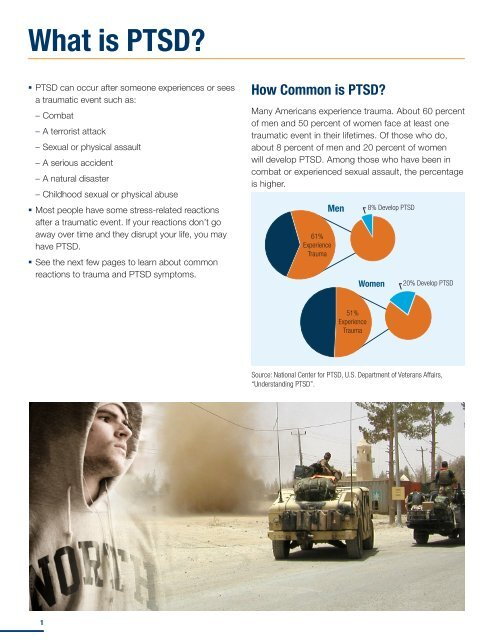 Understanding PTSD - US Department of Veterans Affairs